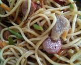 Spaghetti goreng #PR_Pasta langkah memasak 3 foto