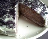 Taro Crepes Cake langkah memasak 5 foto