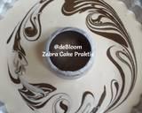 261. Zebra Cake Praktis langkah memasak 7 foto