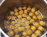 Bubur biji salak langkah memasak 3 foto