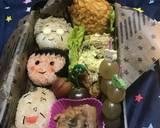 Chibi maruko chan bento (bekal) langkah memasak 2 foto