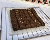 Shiny Crust Brownies Potong langkah memasak 5 foto