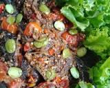 Sambel Goreng Pete Iwak Mujaer langkah memasak 3 foto