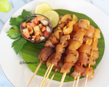 Sate Kikil #FestivalResepAsia #Indonesia langkah memasak 7 foto