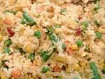 Tojásos rizs mexikói zöldségkeverékkel recept lépés 4 foto