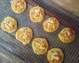 Pizza Mini EMPUK Proofing 1 Kali No Ulen No Telur langkah memasak 18 foto