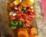 Cumi Wortel Saos Tiram langkah memasak 2 foto