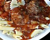 Porcupine meatballs and pasta recipe step 10 photo