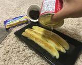 Pisang penyet choco-cheese langkah memasak 3 foto