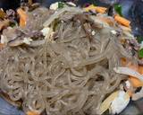 Japchae - stir fry glass noodle ala Korea, My 2nd Fav Korean Food langkah memasak 7 foto