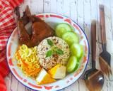 Nasi tutug oncom, Oseng Mie dan Ayam goreng Manis langkah memasak 8 foto