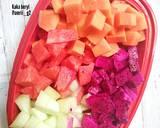 Salad buah #SaladAction langkah memasak 1 foto