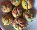 Colourful Candy Bread recipe step 10 photo