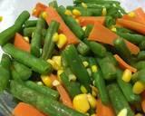 Tumis wortel buncis jagung (side dish untuk steak) langkah memasak 3 foto