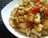 Makaroni telur poll pedas #pr_pasta langkah memasak 2 foto