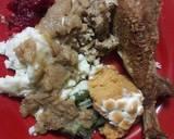 Thanksgiving Turkey beserta 6 Makanan Pendamping langkah memasak 8 foto