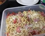 Italian spaghetti pasta salad recipe step 6 photo