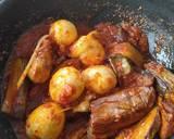 Balado Telor Terong langkah memasak 3 foto
