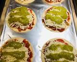 Mini Shredded Salsa Chicken Tortilla Pizzas recipe step 6 photo