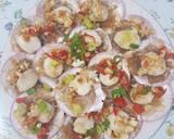 Steamed scallops with garlic (tim scallop bawang putih) langkah memasak 11 foto