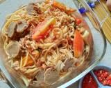 Spaghetti Tek-tek langkah memasak 3 foto