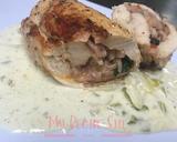 Foto del paso 6 de la receta Pechugas Rellenas En Salsa De Alguashte Y Loroco