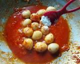 Telur Puyuh Balado langkah memasak 4 foto