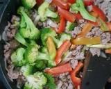 Ca Brokoli Daging Cincang Saus Tiram langkah memasak 4 foto