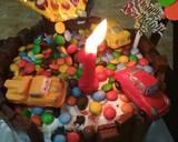 Gravity Cake langkah memasak 13 foto