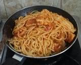 Spaghetti goreng udang (#pr_Pasta) langkah memasak 3 foto