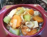 Semur sayuran langkah memasak 2 foto