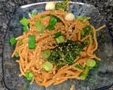 Sesame Peanut noodles, spicy recipe step 7 photo
