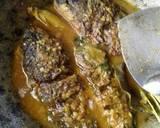 Ikan mas acar kuning langkah memasak 2 foto