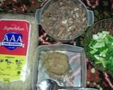 Bihun goreng daging sapi langkah memasak 1 foto