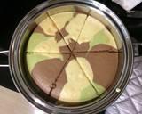 Chiffon Cake Army Look langkah memasak 7 foto