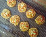 Pizza Mini EMPUK Proofing 1 Kali No Ulen No Telur langkah memasak 19 foto