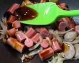 Bakso Sosis Saus Tiram langkah memasak 3 foto