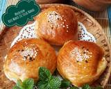 487. Roti Manis Isi Selai Nanas, lembut & moist langkah memasak 15 foto