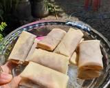 CHOCO BANANA SPRING ROLLS/PISCOK langkah memasak 3 foto