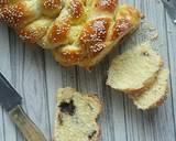 Chocolate-Stuffed Challah langkah memasak 12 foto