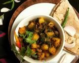 Paneer Kulfa Saag Stir Fry recipe step 7 photo