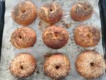 Glutén-, tej- és tojásmentes sütőtökös bagel recept lépés 8 foto