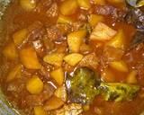 Semur daging kentang langkah memasak 4 foto