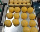 Roti Isi Pisang Keju coklat langkah memasak 3 foto