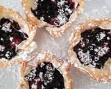 Mixed Berry filo tart recipe step 3 photo
