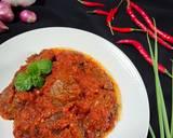 Jengkol Balado langkah memasak 6 foto