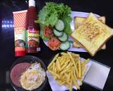 Breakfast Sandwich langkah memasak 3 foto