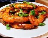 Garlic Butter Shrimp #Ketopad langkah memasak 8 foto
