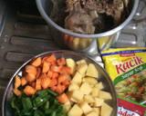 Soup iga daging simple langkah memasak 1 foto