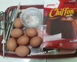 Steamed Chiffon Cake Endesss langkah memasak 1 foto